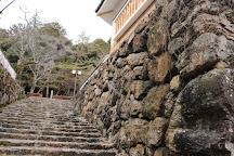 Ruins of Ogurayama Castle, Mino, Japan