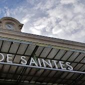Железнодорожная станция  Saintes