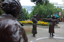 Famous Five Statues, Calgary, Canada