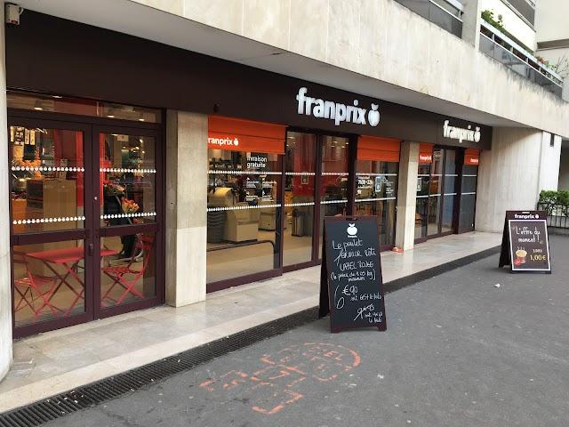marché franprix, Rue de Lourmel