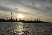 Harbor Piers, Hamburg, Germany