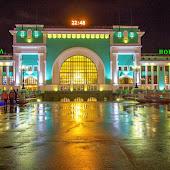 Железнодорожная станция  Novosibirsk Glavny