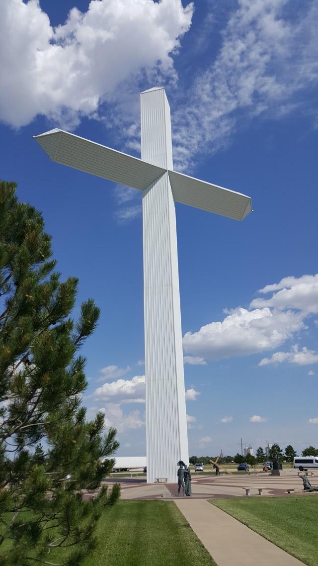 Cross at Groom TX.