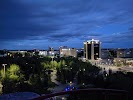 """Площадь """"Независимости"""" на фото Кокшетау"""