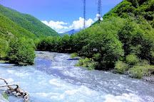 Aragvi River, Gudauri, Georgia
