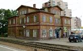 Железнодорожный Вокзал Сестрорецк на фото Сестрорецка