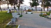 Сквер памяти на фото Унечи