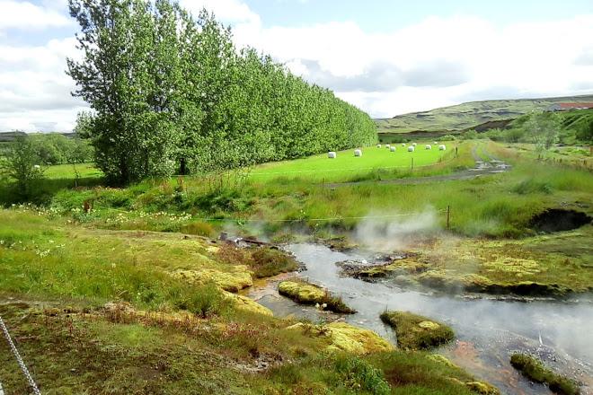 Secret Lagoon - Gamla Laugin, Fludir, Iceland