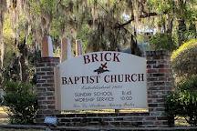 Brick Baptist Church, Saint Helena Island, United States