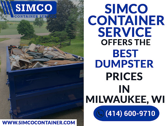 Dumpster Rental - Simco Container, Milwaukee, WI