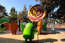 Google Android Lawn Statues, Mountain View, United States