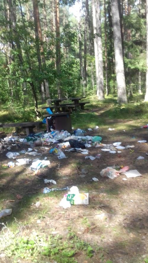 Šakarvos campsite