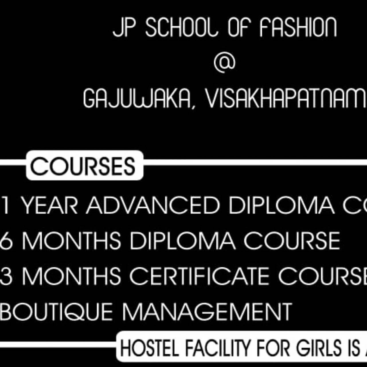 Jp School Of Fashion Educational Institution In Visakhapatnam