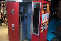 Museum of soviet arcade machines, St. Petersburg, Russia