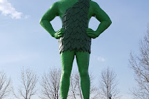 Green Giant Statue Park, Blue Earth, United States