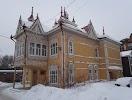 Сквер деревянного зодчества, Красноармейская улица на фото Томска