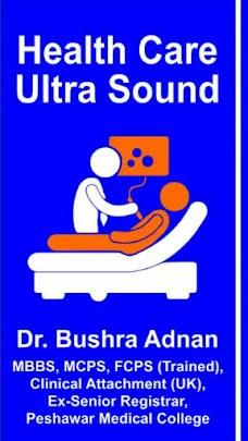 health care ultrasound by lady doctor
