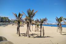 Playa de las Alcaravaneras, Las Palmas de Gran Canaria, Spain
