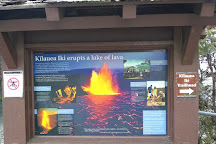 Kilauea Iki Trailhead, Hawaii Volcanoes National Park, United States