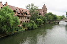 Fleischbrucke, Nuremberg, Germany