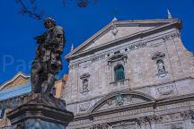 Monumento a Pietro Metastasio, Rome, Italy