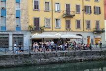 Village cafe, Milan, Italy