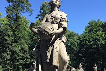 Saxon Gardens, Warsaw, Poland