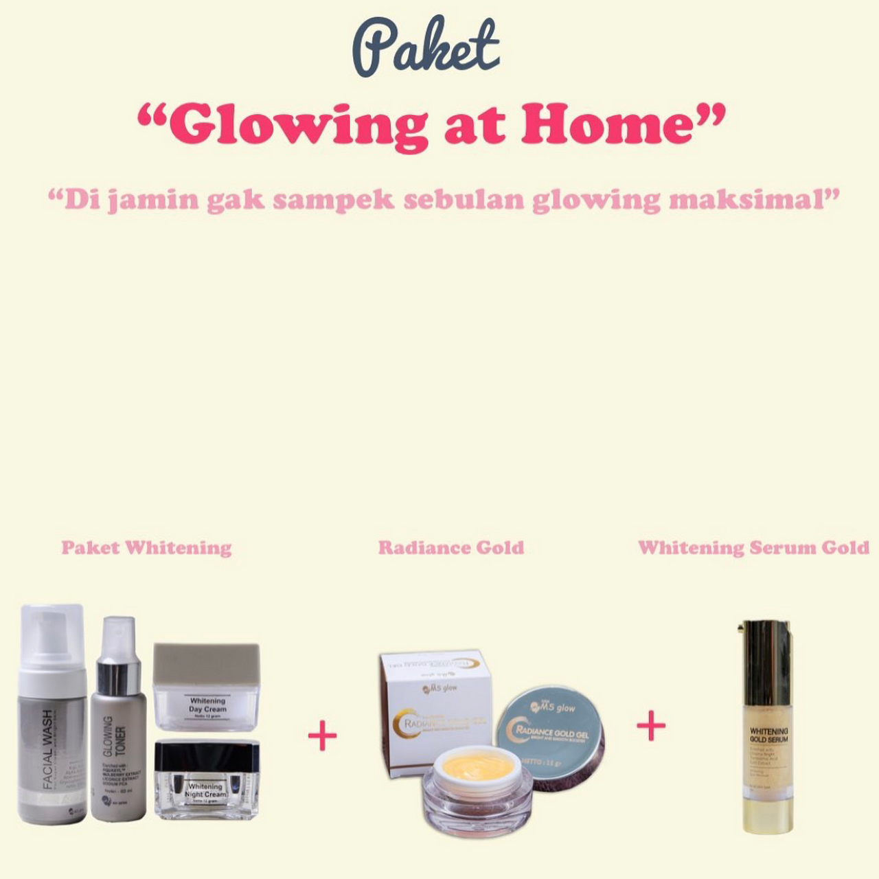 Ms Glow Skincare Malang Beauty Product Supplier