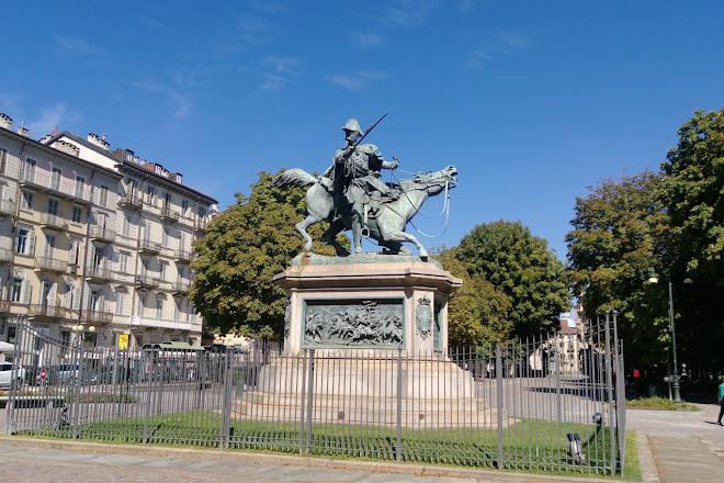 Piazza Solferino, Turin, Italy