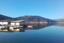 Lake Izvorul Muntelui (Lake Bicaz), Piatra Neamt, Romania