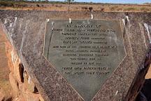 Cannonball Run Monument, Stuarts Well, Australia
