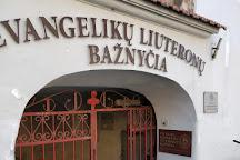 Evangelical Lutheran Church (Evangeliku Liuteronu Baznycia), Vilnius, Lithuania