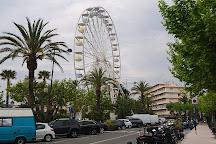 La grande roue du Lavandou, Le Lavandou, France