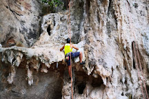 Real Rocks Climbing School, rock climbing shop in Railay Beach, Ao Nang, Thailand