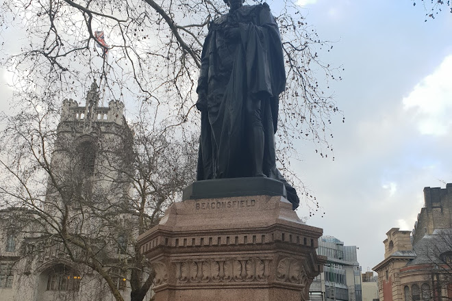 Benjamin Disraeli Statue, London, United Kingdom