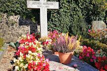 Audrey Hepburn Cemetary, Morges, Switzerland