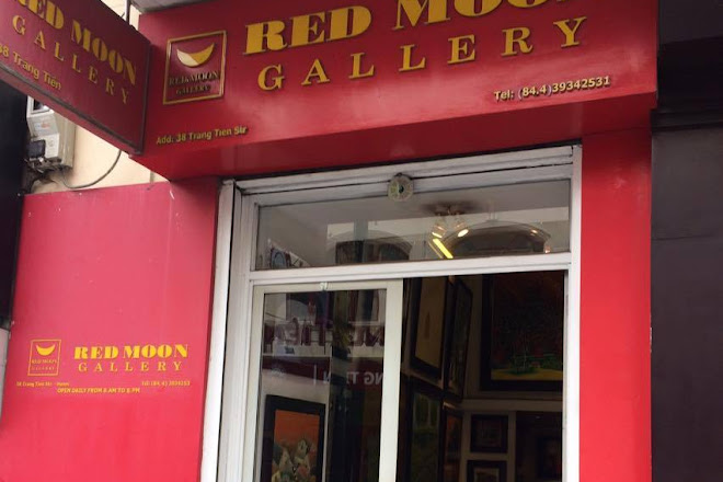 Red Moon Gallery, Hanoi, Vietnam