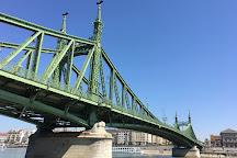 Liberty Bridge (Szabadsag hid), Budapest, Hungary