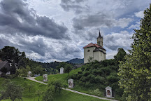 Church of the Holy Cross, Škofja Loka, Slovenia