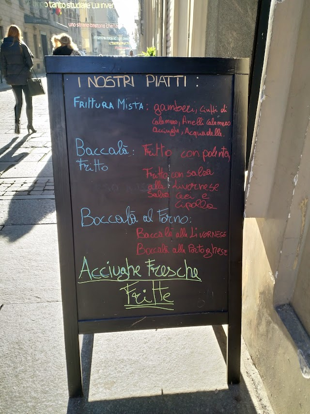Pescheria Pisci Fritti e Baccalà