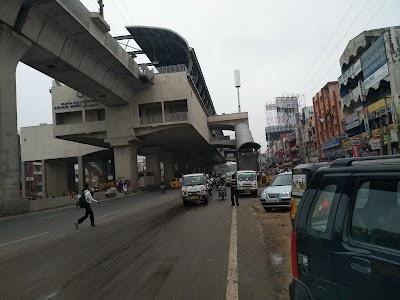 KPHB Colony Metro Station