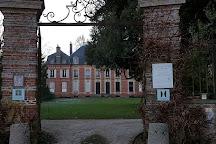 Jardin floral du Chateau de Digeon, Morvillers-Saint-Saturnin, France