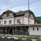 Железнодорожная станция  Karlstejn