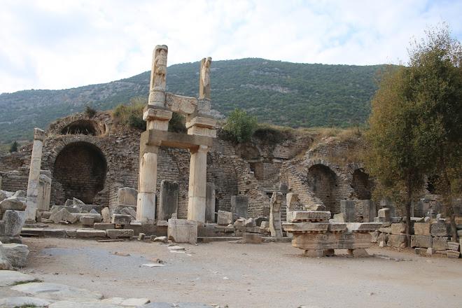 Temple of Domitian, Selcuk, Turkey