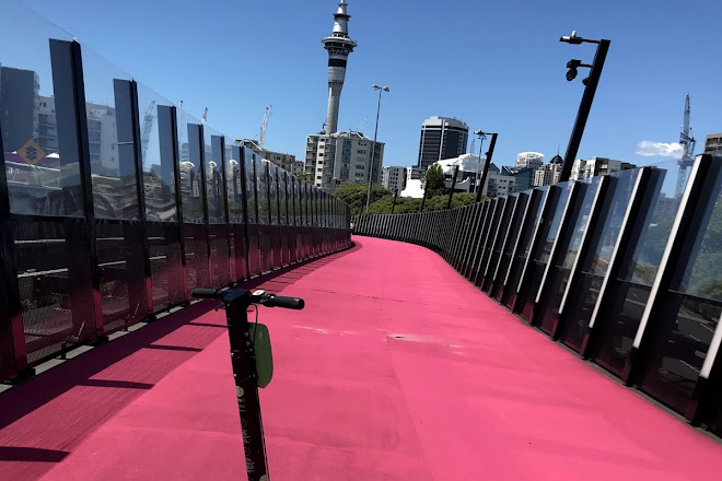 Nelson Street Cycleway, Auckland, New Zealand