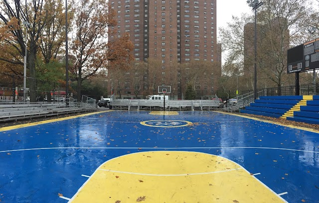 Rucker Park basketball court