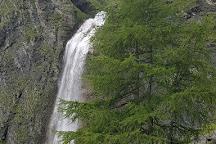 Hintertux Schleierwasserfall, Hintertux, Austria
