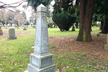Lone Fir Pioneer Cemetery, Portland, United States