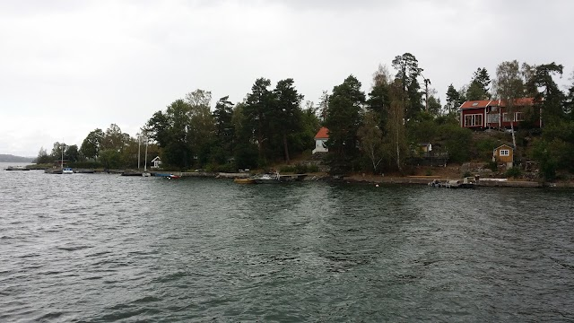 Point de vue depuis l'ile Storholmen