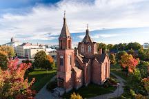 Kasarmintori ja ortodoksinen kirkko, Vaasa, Finland